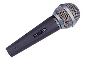 Vocal microphone from Maplin