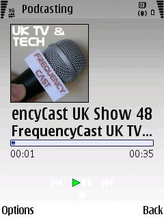 Nokia Podcasting Playback